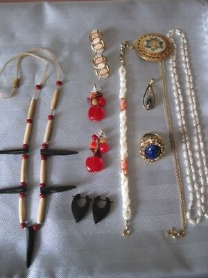 $ CDN42 • Buy JEWELRY LOT Vintage To Modern Variety Of Items & Materials Beautiful Lot #1