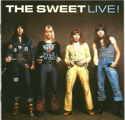 The Sweet - Live! (CD 2001)  • 12.99£