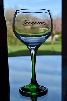 4 X Tanqueray Gin Glasses (new And Boxed) • 24.95£