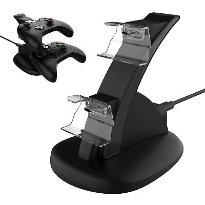 $11.95 • Buy LED Rechargeable Dual Charging Dock Station Controller Charger For Xbox One X S