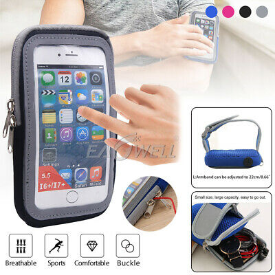 AU13.99 • Buy Universal Running Jogging Sports Arm Band Touch Screen Case Bag Holder Pouch NEW