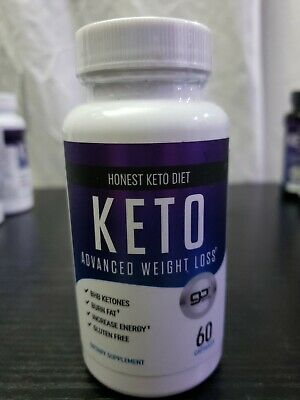 $9.99 • Buy Honest KETO Diet Advanced Weight Loss 60 Capsules Expires 03/2021