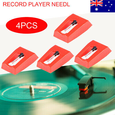 AU19.99 • Buy 2 Pairs Of Stylus Needle Diamond Turntable Replacement For LP Record Player