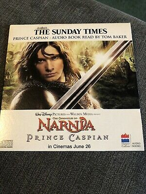 Prince Caspian Audio Book CD Read By Tom Baker Chronicles Of Narnia • 2.99£