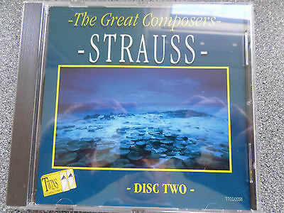 Strauss - The Great Composers - Cd - Album - Disc Two • 2.99£