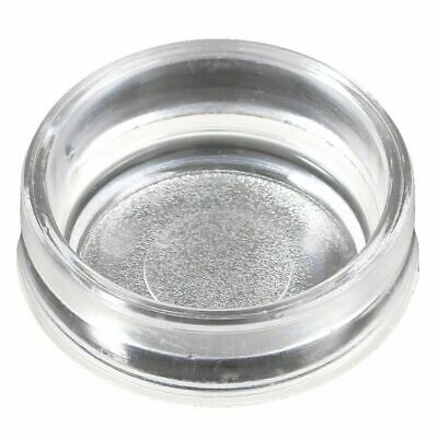 £4.49 • Buy 4 X Small CLEAR Castor Cups Carpet Floor Chair Sofa Furniture Protectors Caster