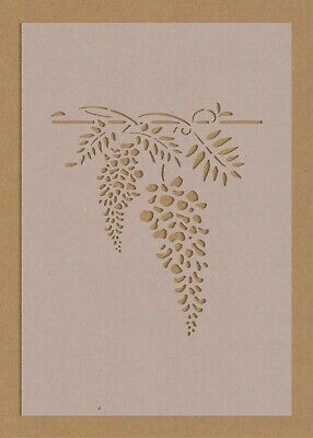 £2.99 • Buy Grapes Hanging Tree Branch Stencil Vine Floral Wall Art Crafts Wine Bar Chic