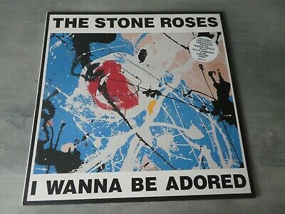 The Stone Roses ‎– I Wanna Be Adored + Print  12 Inch Vinyl Single Madchester Pu • 49.99£