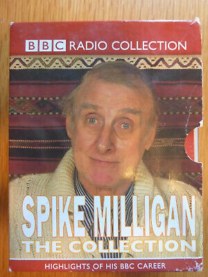 Spike Milligan The Collection Five Cassettes Audio Book Bbc Appear Fine • 9.99£