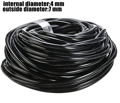 Watering Tubing Hose Pipe 4MM(ID) 6MM(OD) Micro Drip Garden Irrigation System • 8.14£