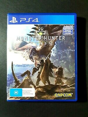 AU38.95 • Buy Monster Hunter World PS4 Game Sony PlayStation 4