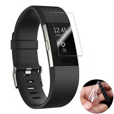 AU4.58 • Buy For Fitbit Charge 4 2pcs Hydrogel Film Explosion-proof Screen Protector Guard