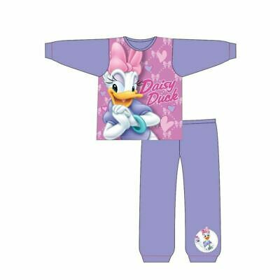 Daisy Duck Toddler Pyjamas  Pjs Nightwear Girls Age 18-24 Months To  4-5 Years • 6.99£