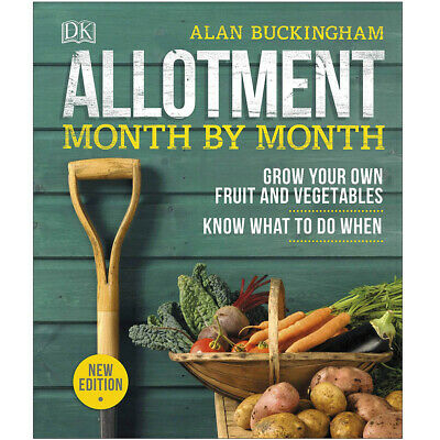 £13.99 • Buy Allotment Month By Month Grow Your Own By Alan Buckingham Hardback NEW