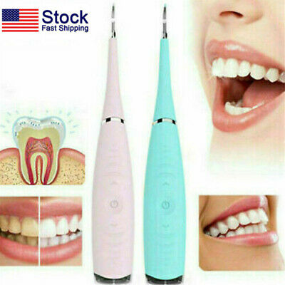 $9.78 • Buy Ultrasonic Teeth Cleaning Tooth Calculus Tartar Stain Remover Dental Cleaner US
