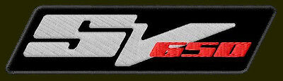 $11 • Buy SUZUKI SV 650 EMBROIDERED PATCH ~5  X 1-3/8  MOTORCYCLES BIKE NAKED GLADIUS #3