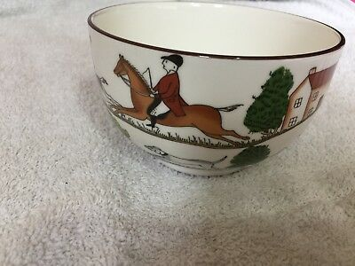 Coalport Hunting Scene Sugar Bowl • 12£