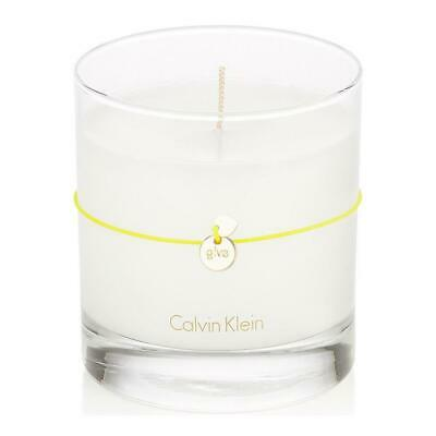 £9.22 • Buy Calvin Klein Citrus Leaves Scented Candle 7.5oz Grapefruit Honeysuckle Musk CHOP