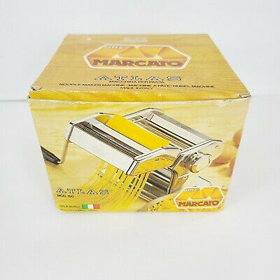 $70 • Buy MARCATO Atlas No 150 Pasta Noodle Maker Machine Vintage With Box~Made In Italy