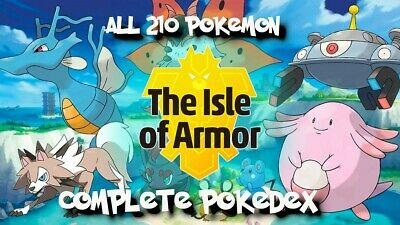 $5 • Buy Pokemon Sword And Shield Isle Of Armor Complete Pokdex Generation 8 HOME