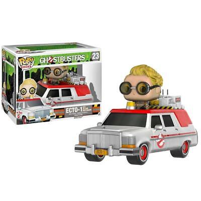 Funko POP Rides: Ghostbusters 2016 Ecto-1 Action Figure Jillian Holtzmann CHOP • 25.01£