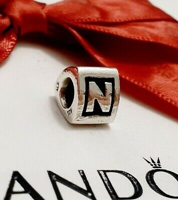 AU45 • Buy Pandora Charm Alphabet Initial Letter N #790323N Authentic Ale 925 Retired