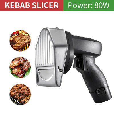 Ajustable Electric Doner Kebab Slicer Cutter Kitchen Cutting Machine Extra Blade • 91.89£
