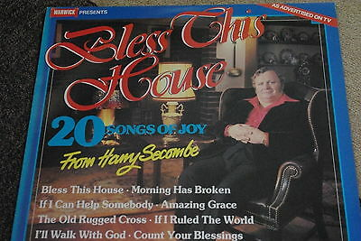 Harry Secombe - Bless This House   Lp • 1.75£