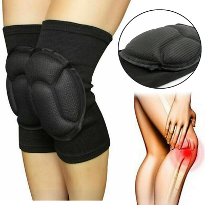 1 Pair Professional Knee Pads Construction Comfort Leg Protectors Work Safety Gv • 5.99£