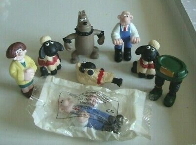 Mcdonalds Shaun The Sheep Toys Figures Happy Meal Wallace  • 6.45£