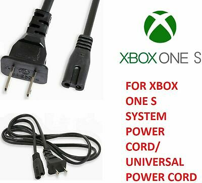 $6.99 • Buy  For Xbox One S 6FT PA-14 2 Slot Prong Power Cord Charging Cable Wall Plug