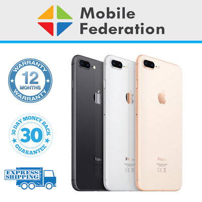 AU479 • Buy Apple IPhone 8 Plus 8+ Touch ID/Home Button Imperfect 64GB 256GB A1864 Unlocked
