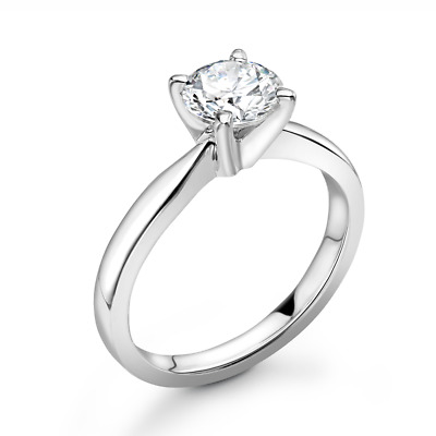 0.50ct Diamond Solitaire Engagement Ring. High Grade F, VS Certified Diamond • 324£