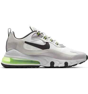$104.99 • Buy Nike Air Max 270 React CI3866-100 Summit White Electric Green Mens Shoes