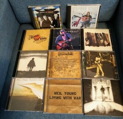 $ CDN55 • Buy Neil Young Lot Of 9 Albums + 4 Bounce CDs - In Excellent Condition