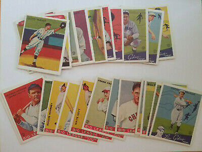 $1.20 • Buy Reprint Vintage Baseball Cards Goudey Big League Cobb Ruth Speaker Free Shipping
