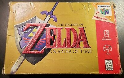 $59.95 • Buy BOXED Legend Of Zelda: Ocarina Of Time (Nintendo 64 N64 1998) CLEANED AND TESTED