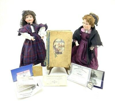 $ CDN145.16 • Buy Little Women Porcelain Doll & 1947 Book Lot Jo & Marmee WendyLawton/Ashton-Drake