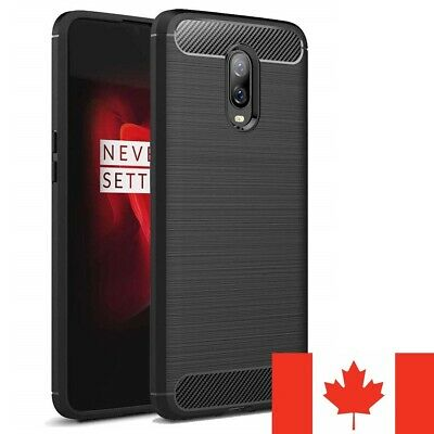 $ CDN6.49 • Buy For OnePlus 8 Pro 7 7T 6 6T 5 Case - Carbon Fiber Protective Soft TPU Cover