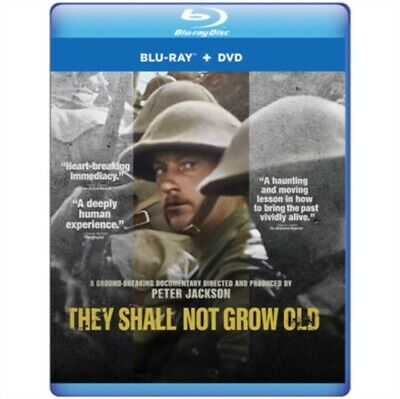 $28.28 • Buy They Shall Not Grow Old (blu Ray/dvd/dig