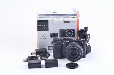 $ CDN543.01 • Buy EXC++ BOXED SONY A6000 W/ 16-50mm F3.5-5.6 OSS ZOOM LENS, GENTLY USED