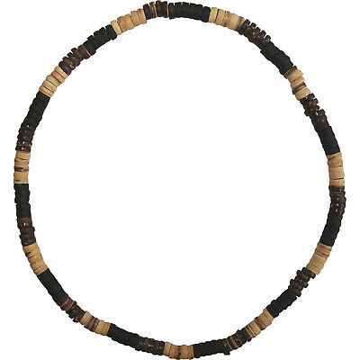 Brown Wood Beaded Necklace Chain Mens Womens Ladies Girls Boys Wooden Jewellery • 3.99£