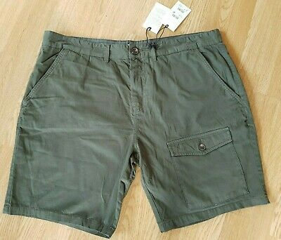 New With Tags NEXT Combat CARGO Summer Shorts 40 ARMY OLIVE GREEN Holiday Safari • 16.99£