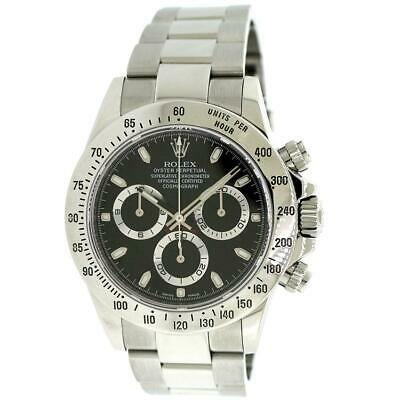$ CDN29769.37 • Buy Rolex Cosmograph Daytona 40mm Black Dial Watch Box Papers 116520