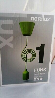 Nordlux Funk Green Pendant Ceiling Light Suspension Cable 230cm Brand New  • 11.95£
