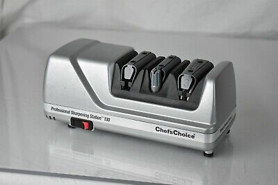 $96.95 • Buy Chef's Choice Professional Sharpening Station Model 130 Electric Knife Sharpener