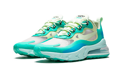 $100 • Buy Nike Air Max 270 React Jade Frosted Spruce Barely Volt AO4971-301 Size 8-13 New