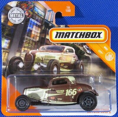 AU5.37 • Buy Matchbox '33 Ford Coupe BROWN #16 2020 New On Short Card