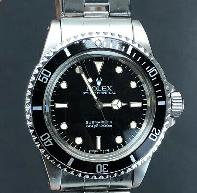 $ CDN15613.54 • Buy Rolex 5513 Submariner Spider Dial With Box / Papers - Mint Condition