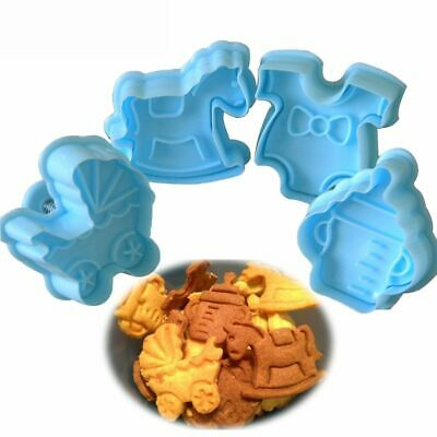 £2.90 • Buy Kitchen Cake Decor Plunger Cookie Cutter Fondant Pastry Mould Baby Biscuit Mold